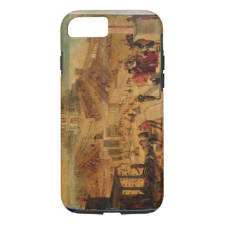 The building of the Tower of Babel (panel) iPhone 7 Case