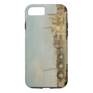 The Building of Westminster Bridge with an imagina iPhone 7 Case