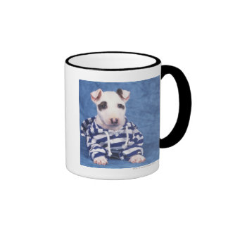 The Bull Terrier is a breed of dog in the Ringer Mug
