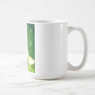 The bunny basic white mug