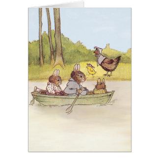 The Bunny Boys go Boating Card