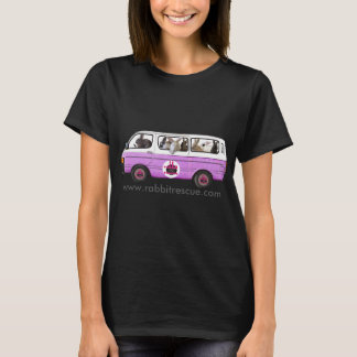 The Bunny Bus t-shirt from Rabbit Rescue - Purple