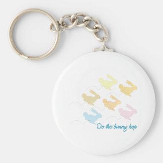 The Bunny Hop Key Chain