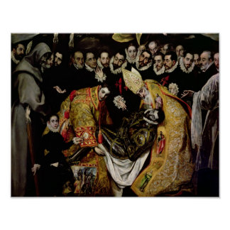 The Burial of Count Orgaz Poster