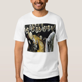 'The Burial of the Count of Orgaz' Tee Shirts