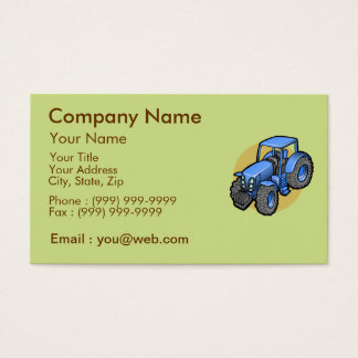 The Business of Agriculture Business Card
