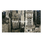 The Bustling Streets of New York City Pack Of Standard Business Cards