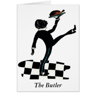 """'The Butler"""" Notecard"""