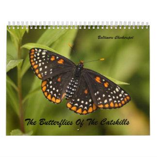 The Butterflies of the Catskills Wall Calendars