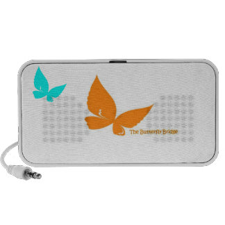 The Butterfly Bridge Doodle Speakers