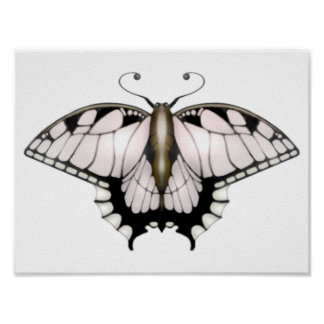 The Butterfly Project -  Golden Butterfly Poster