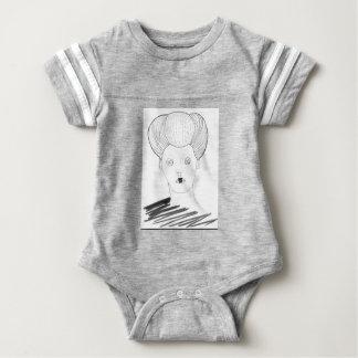 The Button Queen Baby Bodysuit