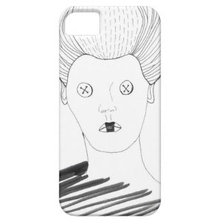 The Button Queen iPhone 5 Cover