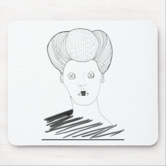 The Button Queen Mouse Pad