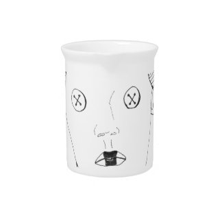 The Button Queen Pitcher