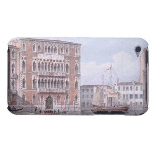 The Ca' Foscari, Venice, engraved by Brizeghel (li iPod Case-Mate Case