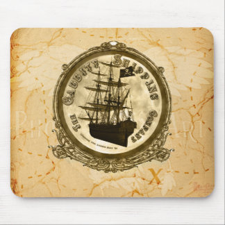 The Cabbity Shipping Co - Treasure Map Mouse Pad