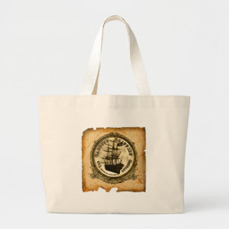 The Cabbity Shipping Co - Treasure Map Tote Bags