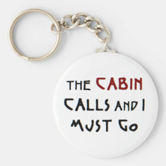 the cabin calls key ring