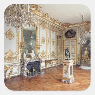 The Cabinet de la Pendule Square Sticker