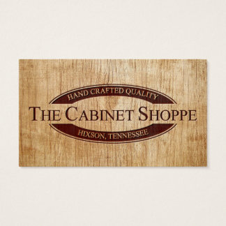 The Cabinet Shoppe Business Card