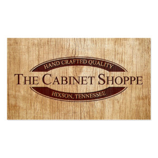 The Cabinet Shoppe Pack Of Standard Business Cards