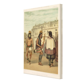 The cachina canvas print