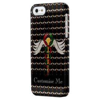 The Caduceus (Full Colour) Clear iPhone SE/5/5s Case