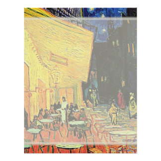The cafe terrace on the place du forum, Arles, at Full Color Flyer