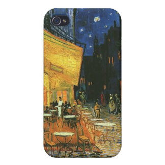 The cafe terrace on the place du forum, Arles, at iPhone 4 Cases
