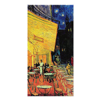The cafe terrace on the place du forum, Arles, at Customized Photo Card