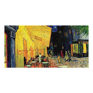 The cafe terrace on the place du forum, Arles, at Personalized Photo Card