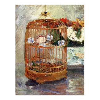 The Cage by Berthe Morisot Postcard