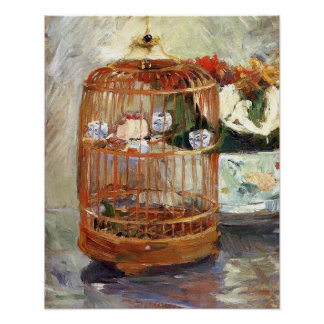 The Cage by Berthe Morisot Poster