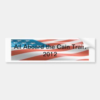 The Cain Train Bumper Sticker