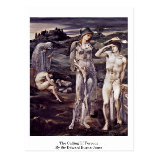 The Calling Of Perseus By Sir Edward Burne-Jones Post Card