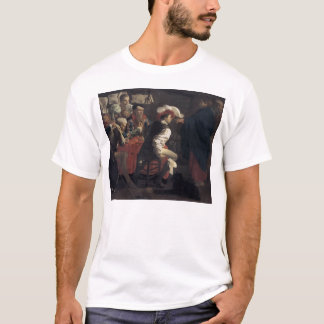The Calling of St. Matthew by Hendrick Terbrugghen T-Shirt