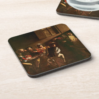 The Calling of St. Matthew, c.1598-1601 Coaster