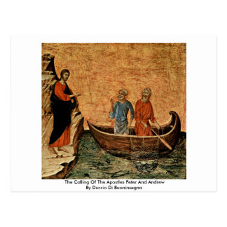 The Calling Of The Apostles Peter And Andrew Postcard