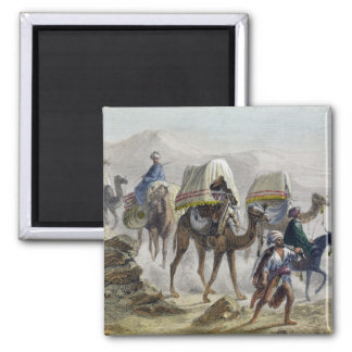 The Camel Train, from 'Constantinople and the Blac Square Magnet