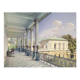 The Cameron Gallery at Tsarskoye Selo, 1859 Postcard