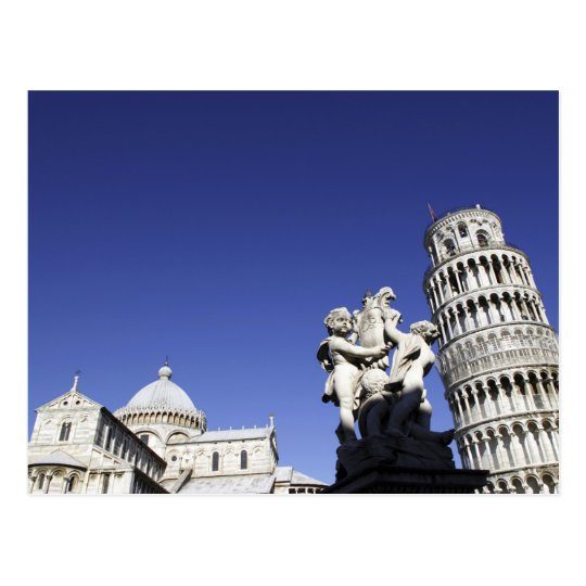 The Campo dei Miracoli Field of Miracles) is Postcard