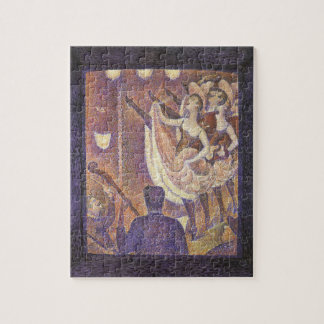 The Can Can Dance, Le Chahut by Georges Seurat Jigsaw Puzzle