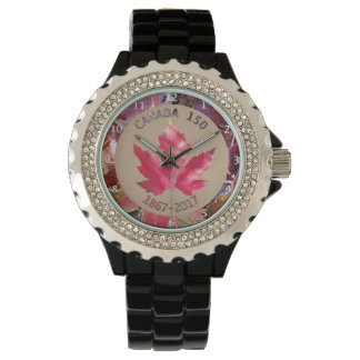 The Canada Sesquicentennial Maple Leaf Watch