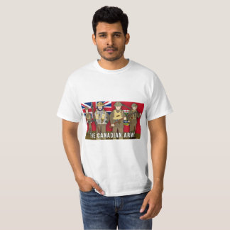 The Canadian Army Faction World War I T-Shirt