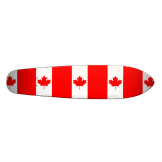 The Canadian Flag, Canada 18.1 Cm Old School Skateboard Deck
