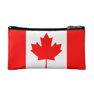 The Canadian Flag - Canada Souvenir Cosmetic Bags
