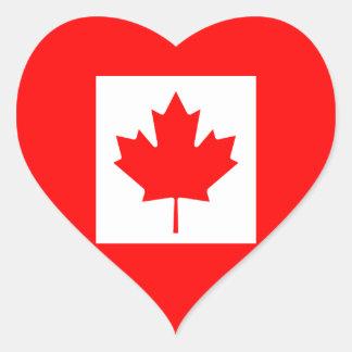 The Canadian Flag - Canada Souvenir Stickers