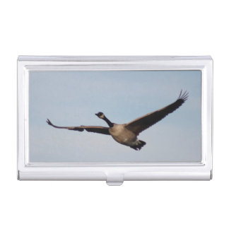 The Canadian Goose Business Card Holder