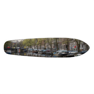 The Canals of Amsterdam Custom Skateboard